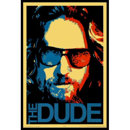 The Dude Big Lebowski (The Big Lebowski The Dude Poster Poster)
