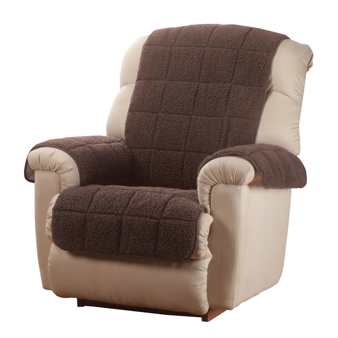 Waterproof Quilted Sherpa Recliner Cover by OakRidgeTM  sc 1 st  Walmart & Recliner Covers islam-shia.org