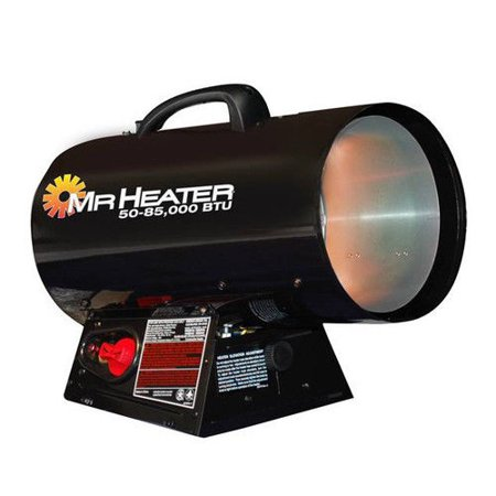 Mr. Heater F271380 50,000 - 85,000 BTU Forced Air Propane Heater