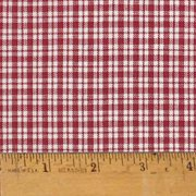liberty red 2 plaid christmas homespun cotton fabric sold by the yard jcs fabric - Christmas Plaid Fabric
