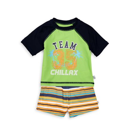 Baby Boy's 2-Piece Tee & Shorts Set (Flapdoodles 2 Piece)