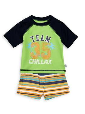 Baby Boy's 2-Piece Tee & Shorts Set