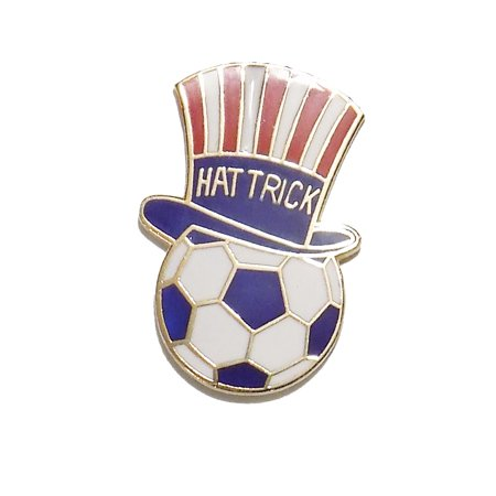 Uncle Sam Soccer Hat Trick Player Pin by Code Four Athletics