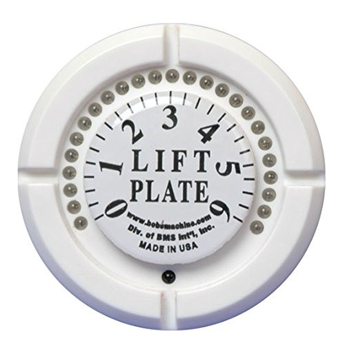 Bob's Machine Shop Standard/Extreme/Mini Series Jack Plate Lift Gauge (White w/ SS Bezel)