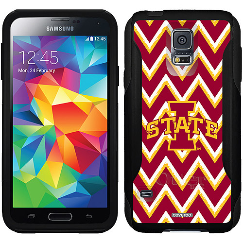 Iowa State Sketchy Chevron Design on OtterBox Commuter Series Case for Samsung Galaxy S5