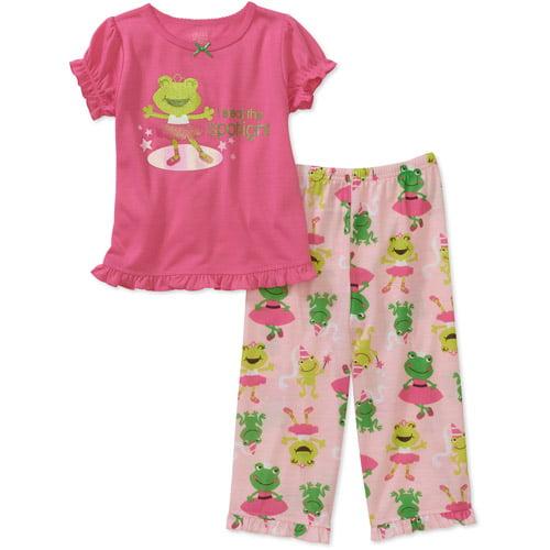 Child of Mine by Carters Baby Girls' 2-Piece Froggy Ballerina Short Sleeve Pajama Set