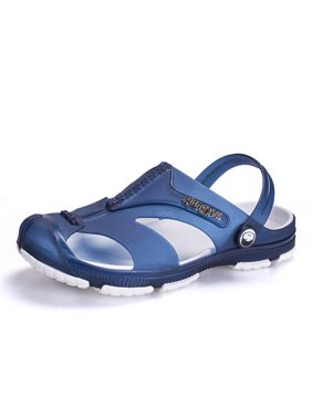 a1637d5b4 Product Image Fashion Men Summer Slide Slip On Shoes Rubber Flip Flops  Sandal Hollow Slipper Outdoor