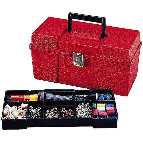 "Stack-On 13"" Handy Box, Red"