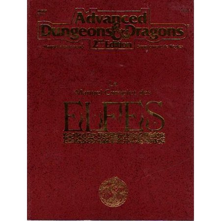 Le Manuel Complet Des Elfes  The Complete Book Of Elves  French Edition  Great Condition