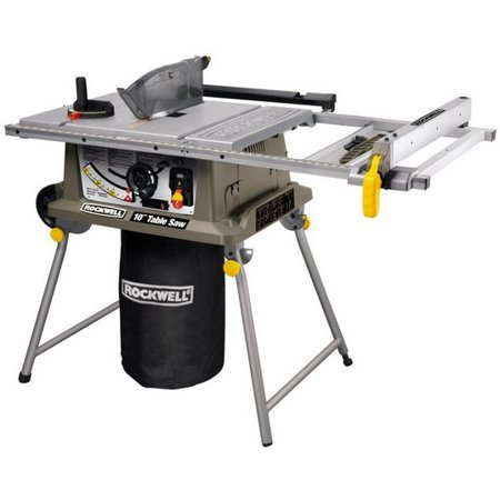 - Rockwell Rk7241S 15 Amp 10-Inch Table Saw With Laser Guide