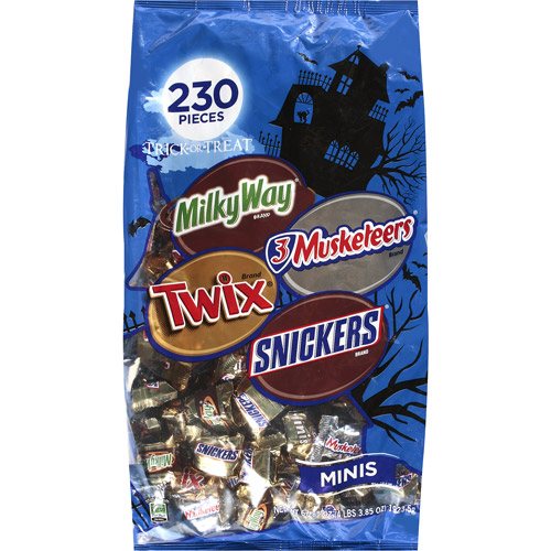 Mars  Halloween Assorted Chocolate Trick-Or-Treat Candy Mix, 67.85 oz