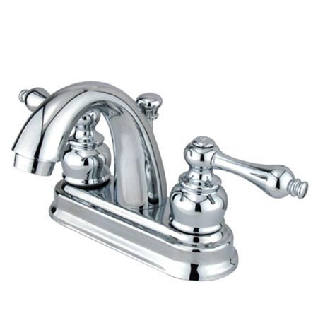 4 Inch Center Lavatory Faucet - Polished Chrome