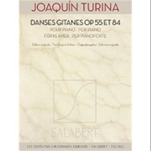 Hal Leonard Turina-Danses Gitanes Op. 55 and 84 by