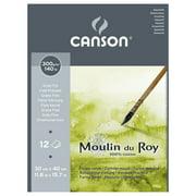 CANSON/FILA CO 400028951 MOULIN DU ROY WATERCOLOUR 140LB COLD PRESS PAD 11.8X15.7