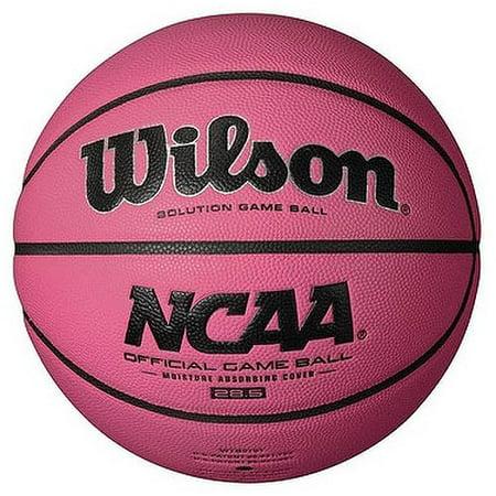North Carolina Tar Heels Replica Basketball (Wilson Sporting Goods NCAA Replica Pink Intermediate Basketball)