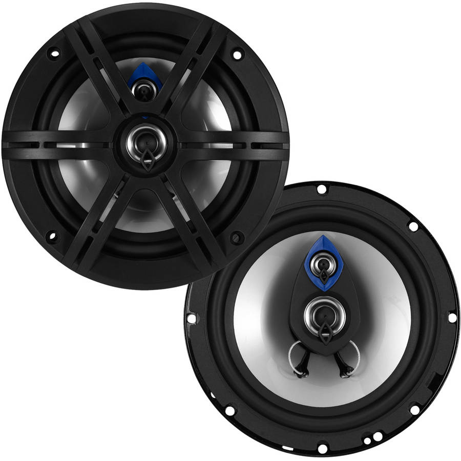 "Planet Audio PL63 Pulse 6.5"" 3-Way 300W Full-Range Speakers"
