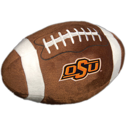 NCAA Plush Football Pillow, Oklahoma State Cowboys