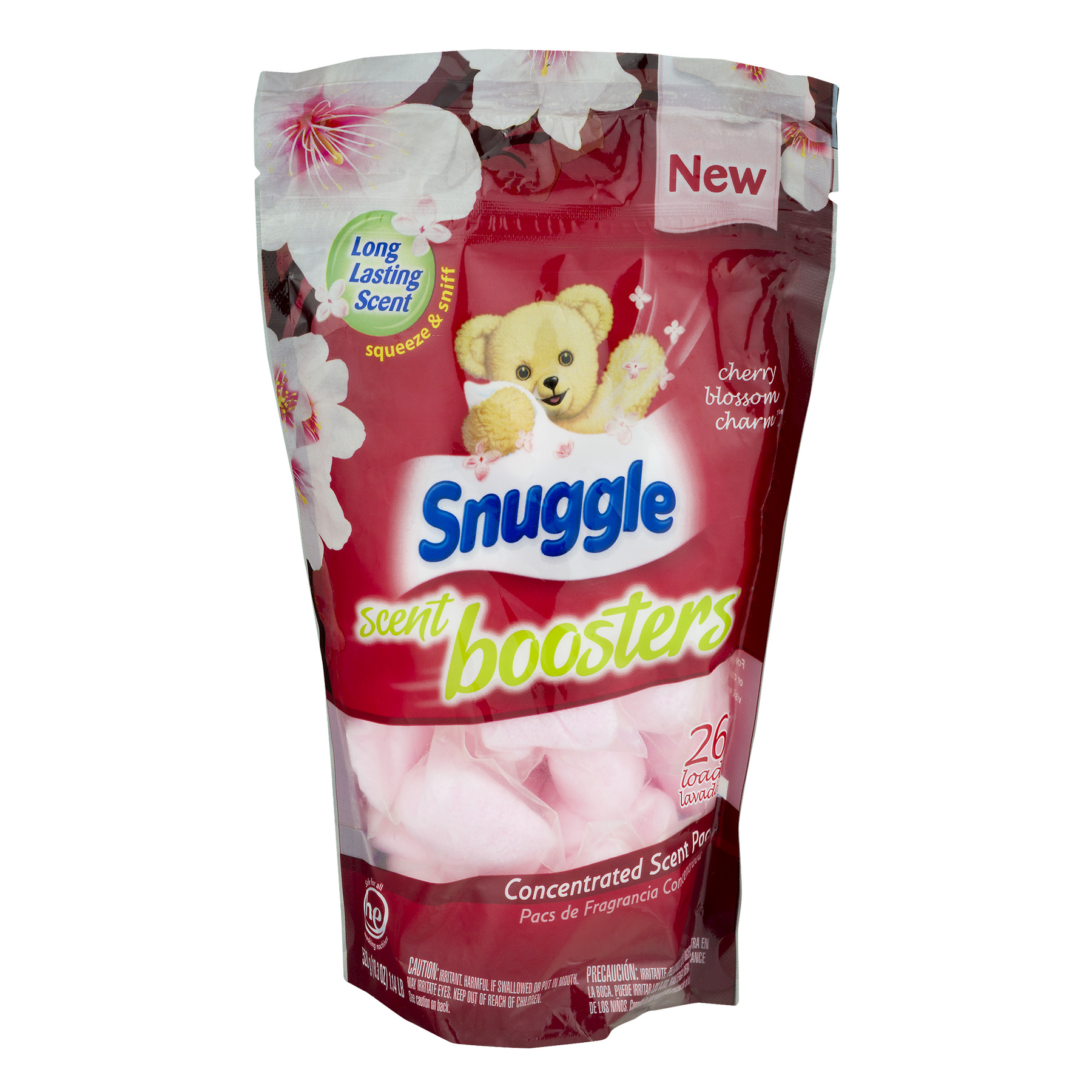 Snuggle Scent Laundry Boosters Cherry Blossom Charm - 26 CT26.0 CT