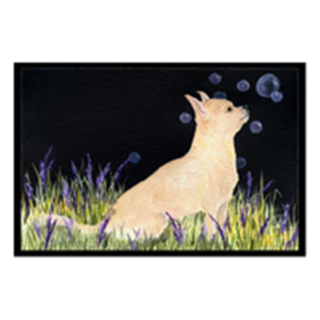 Carolines Treasures SS8515MAT 18 x 27 in. Starry Night Chihuahua Indoor Outdoor Doormat - image 1 de 1