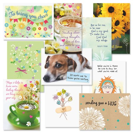 Get Well Cards Value Pack - Set of 20 (2 of each) ()