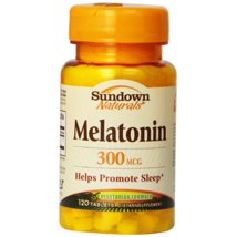 Sleep Aids: Sundown Naturals Melatonin