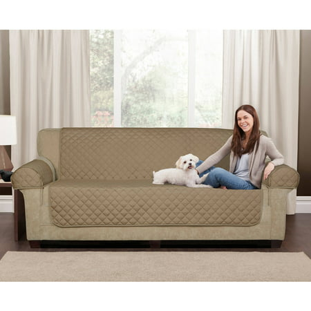 Maytex Waterproof Non-Slip Faux Suede Sofa Pet Cover Protector ()