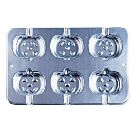 Jack-o-Lantern Cookie Treat Pan, Great for adding fun shapes to other goodies like rice cereal treats and candy pops By Wilton Wilton Cookie Molds