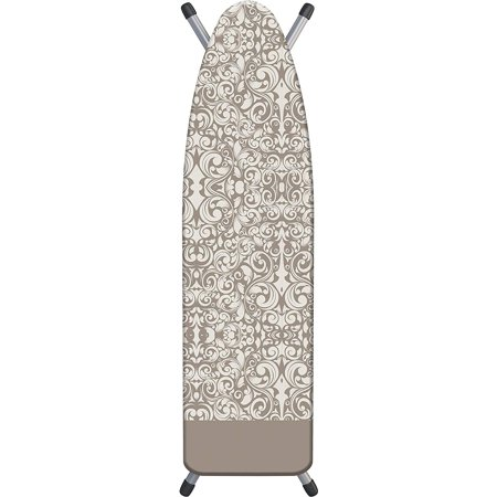 Damask Beige Triple Layer Ironing Board Cover, 15