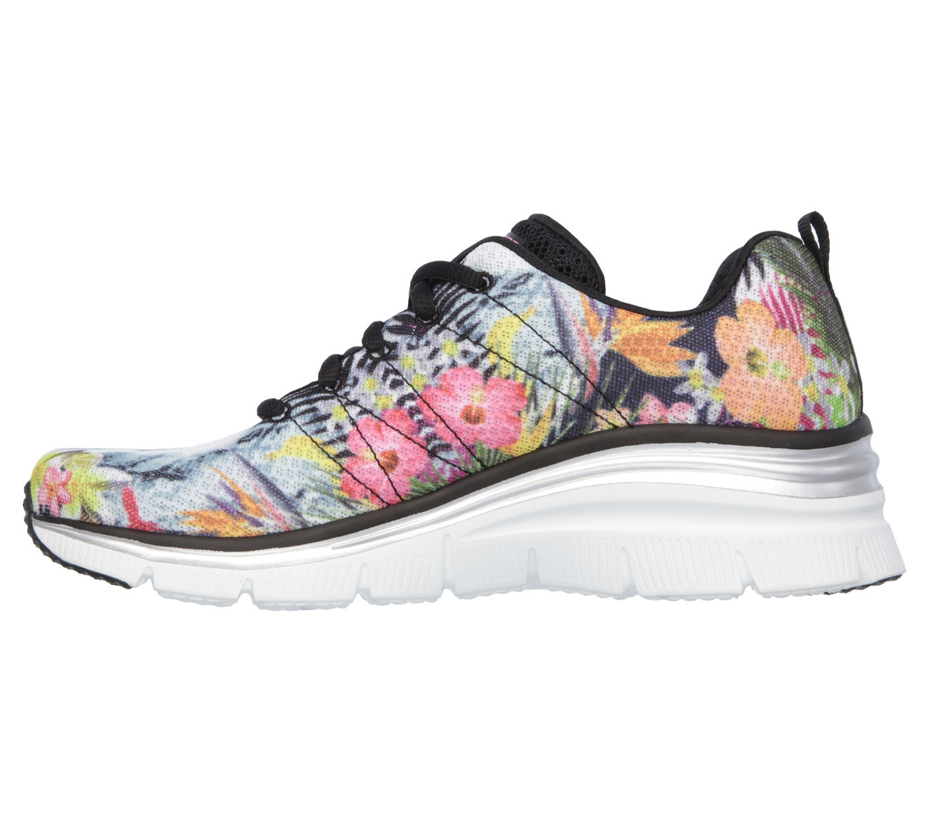 1bacc0851af5 SKECHERS - Skechers 12708 BKMT Women s FASHION FIT-SPRING ESSENTIAL Sneaker  - Walmart.com