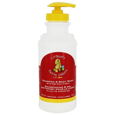 Chocolate Milk Body Wash - Canus - Li'l Goat's Tearless Shampoo & Body Wash with Fresh Goat's Milk - 16 oz.