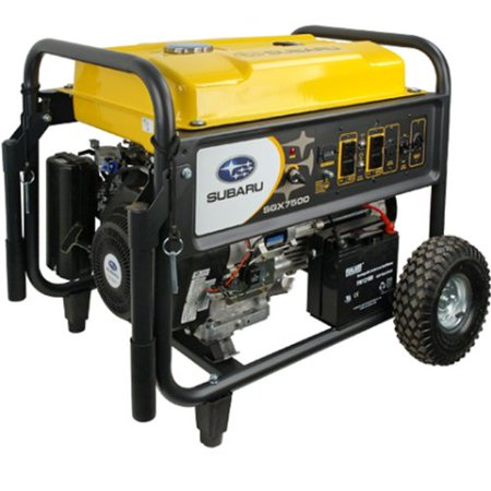 Subaru Sgx7500e 14 Hp Gas Powered Commercial Generator  7500W
