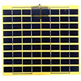 5W 18V 270mA Polycrystalline Solar Panel Solar Cell For 12V Car Battery Charger ()