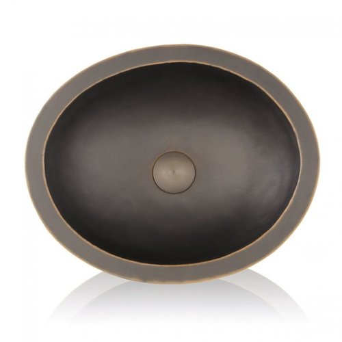 Lenova CB-123 Copper Under Mount Bathroom Sink, Oil Rubbed Bronze