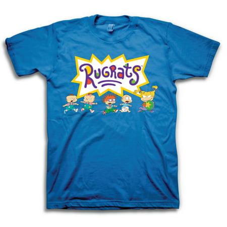 Rugrats Logo Group Shot Graphic T-Shirt | 2XL](Rugrats Twins)