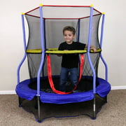 """Skywalker 55"""" Round Bounce-n-Learn Interactive Game Trampoline"""
