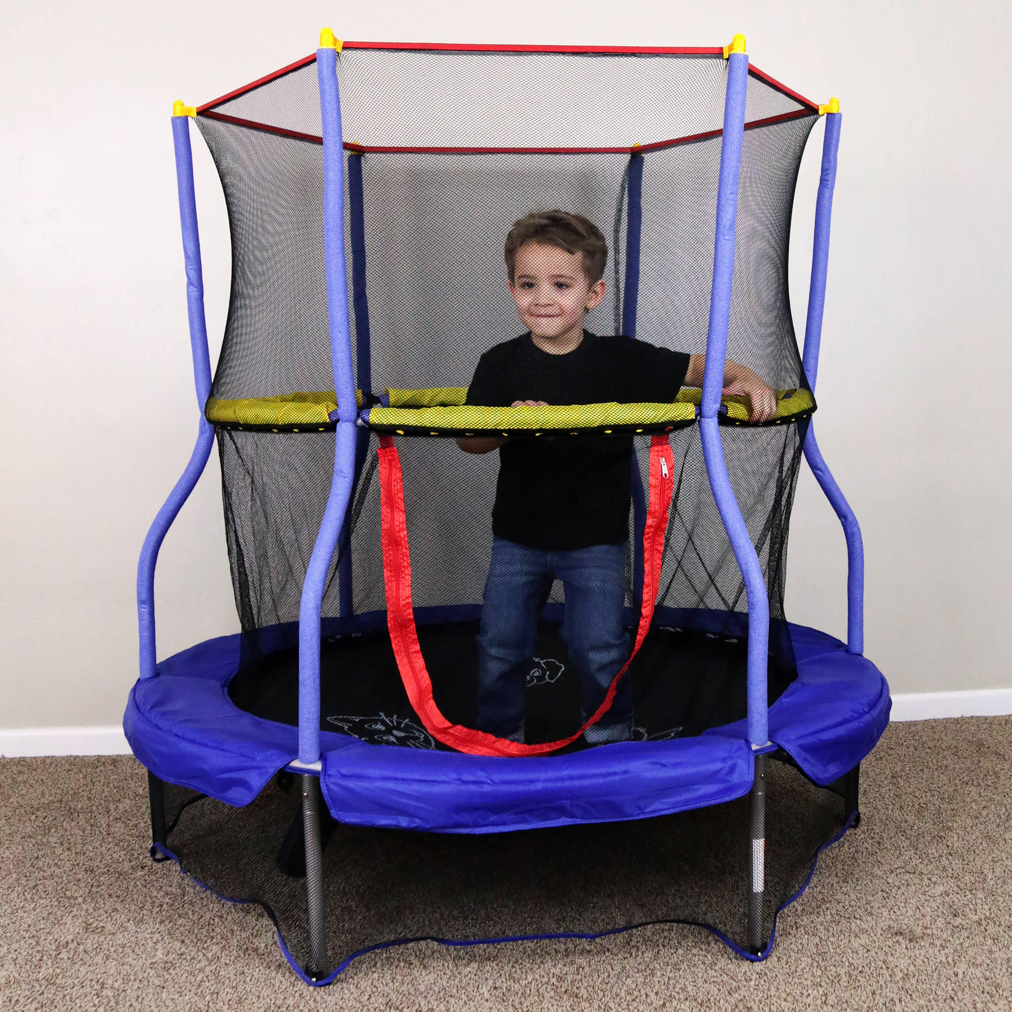 "Skywalker 55"" Round Bounce-n-Learn Interactive Game Trampoline"