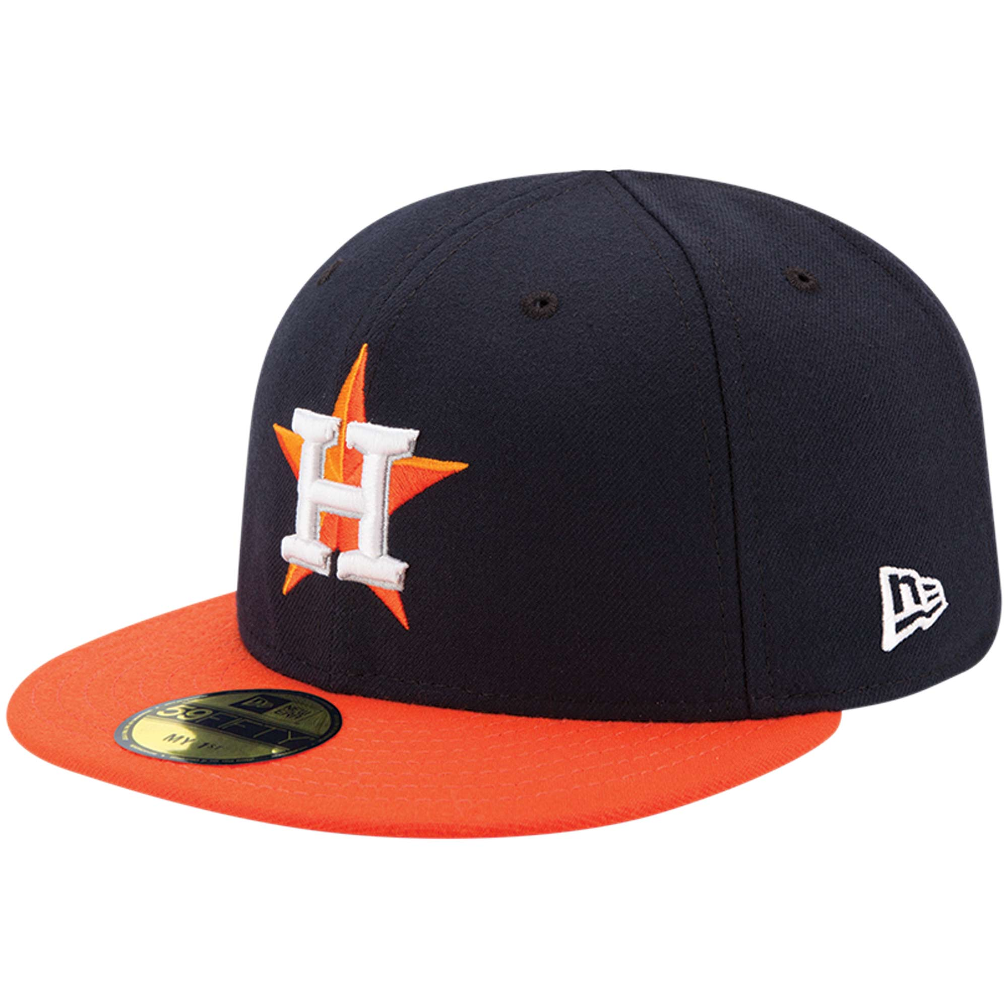 Houston Astros New Era Infant Authentic Collection On-Field My First 59FIFTY Fitted Hat - Navy - 6