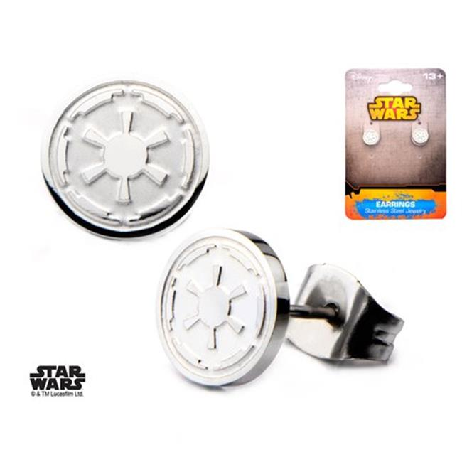 Star Wars Swiser03 Galactic Empire Symbol Stainless Steel Stud Earrings