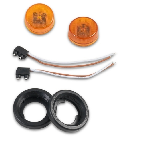 Warrior Products Tube Flare Side Marker Light Kit 2731
