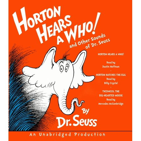 Dr Seuss Embroidery (Horton Hears a Who and Other Sounds of Dr. Seuss : Horton Hears a Who; Horton Hatches the Egg; Thidwick, the Big-Hearted)