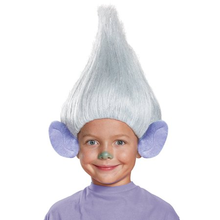 Guy Diamond Troll Wig with Ears Child 18147