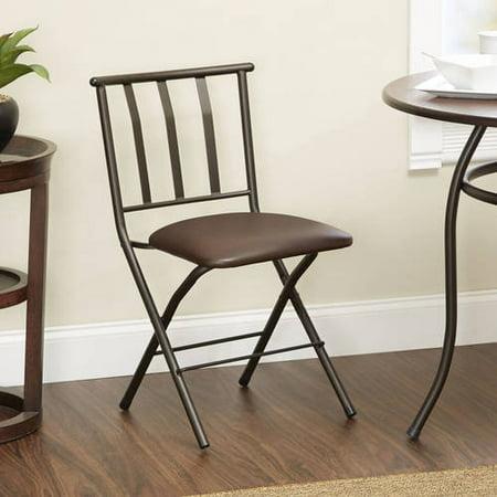 Terrific Mainstays Slat Back Folding Dining Chair Multiple Colors Lamtechconsult Wood Chair Design Ideas Lamtechconsultcom