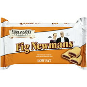 Newman's Own Organics Fig Newmans Fruit Filled Cookies, 10 oz, (Pack of 6)