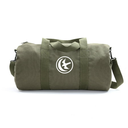 Game of Thrones House Arryn Sigil Army Sport Heavyweight Canvas Duffel