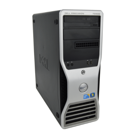 Refurbished Dell Precision T5500 Workstation X5650 Six Core 2.66Ghz 12GB 500GB Dual DVI