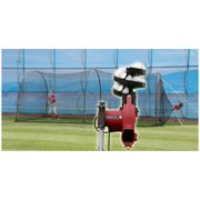 Trend Sports Heater Complete Home Batting Cage with Heater Jr. Pitching Machine