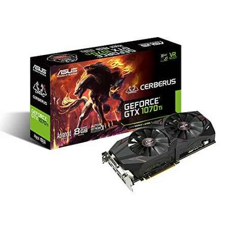 Asus 8GB Geforce GTX 1070 Ti HDMI 2 0/DisplayPort 1 4/DVI-D