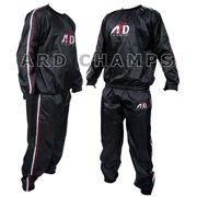 Heavy Duty Sweat Suit Sauna Exercise Gym Suit Fitness Weight Loss Anti-Rip Size 2XL