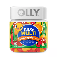 Olly Kids Worms, 70ct