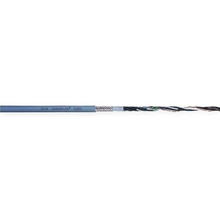 CHAINFLEX CF211-02-14-02 Continuous Flexing Data Cable,2A,300V G1967561